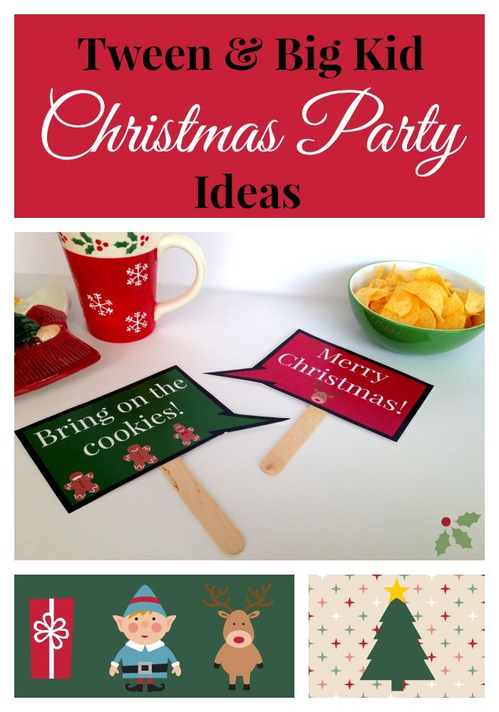 Pin On Tween Teen Christmas Party Ideas