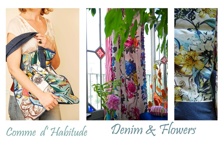 denim & flowers  https://www.facebook.com/CommeDHabitudeAccessories