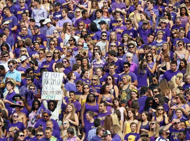 sold out!! 50,000 in Pirate Nation! ECU vs. UNC, Sept. 20  2014 | The Daily Reflector