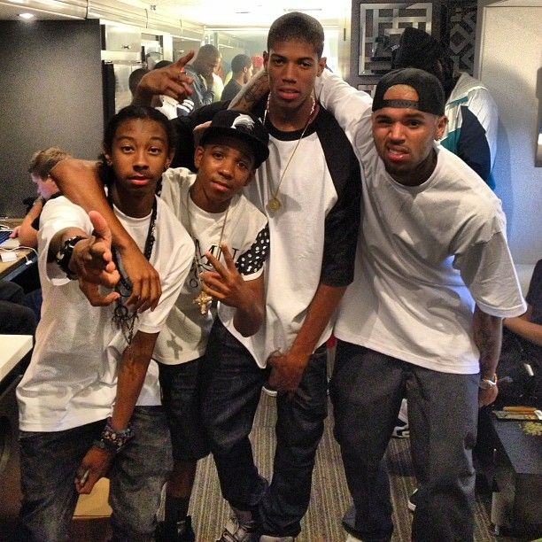 Cbe Mylesbigdealbrown Chris Brown Mindlessbehavior Ray