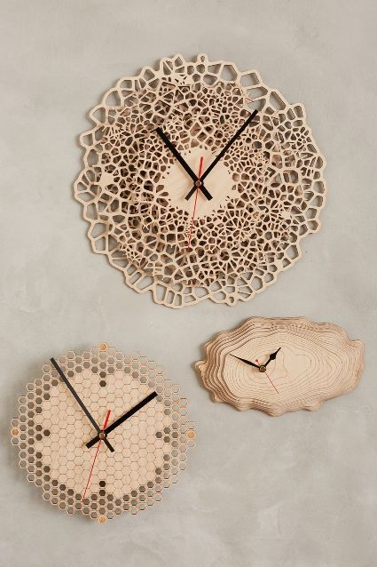 beautiful baltic birch wall clocks http://rstyle.me/n/v4nd5r9te