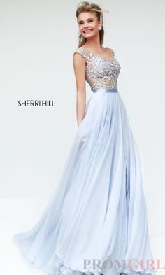 Designer Evening Gowns for Prom, Sherri Hill Prom Dress- PromGirl jaglady. I love the colour of this