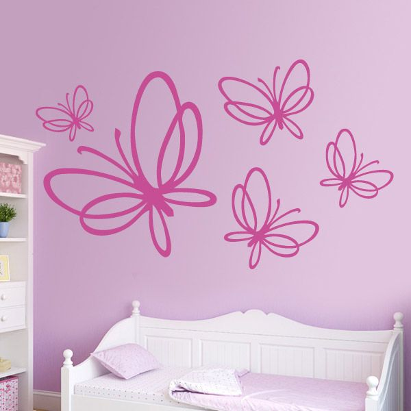 132 best images about top vinilos decorativos on pinterest for Vinilos mariposas