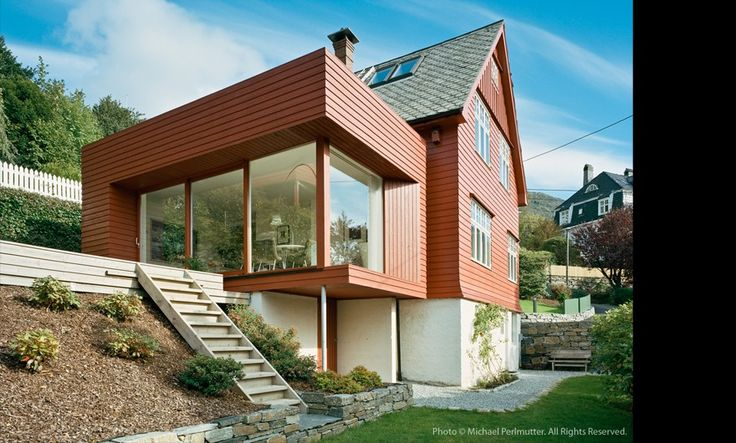 saunders architecture - Mix of new and old. Great modern addition for an smaller, older home