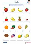 Worksheets and exercises with solutions about the #Fruits in #English lessons and Dyslexia lessons.      Write the names of the fruits!     #Crossword    #Puzzle     #Complete #words     Word #Snakes     #Translation     Complete #sets     Write #questions / #answers     #Cloze  The worksheets can be used irrespective of the book used at school.