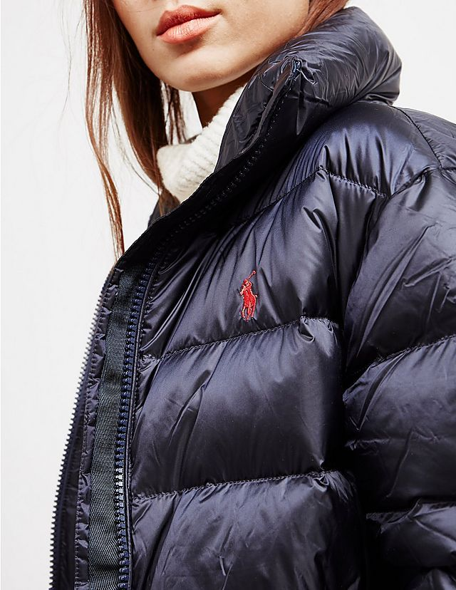 8450f885 Polo Ralph Lauren Embroidered Down Jacket | Puffer coat in 2019 ...