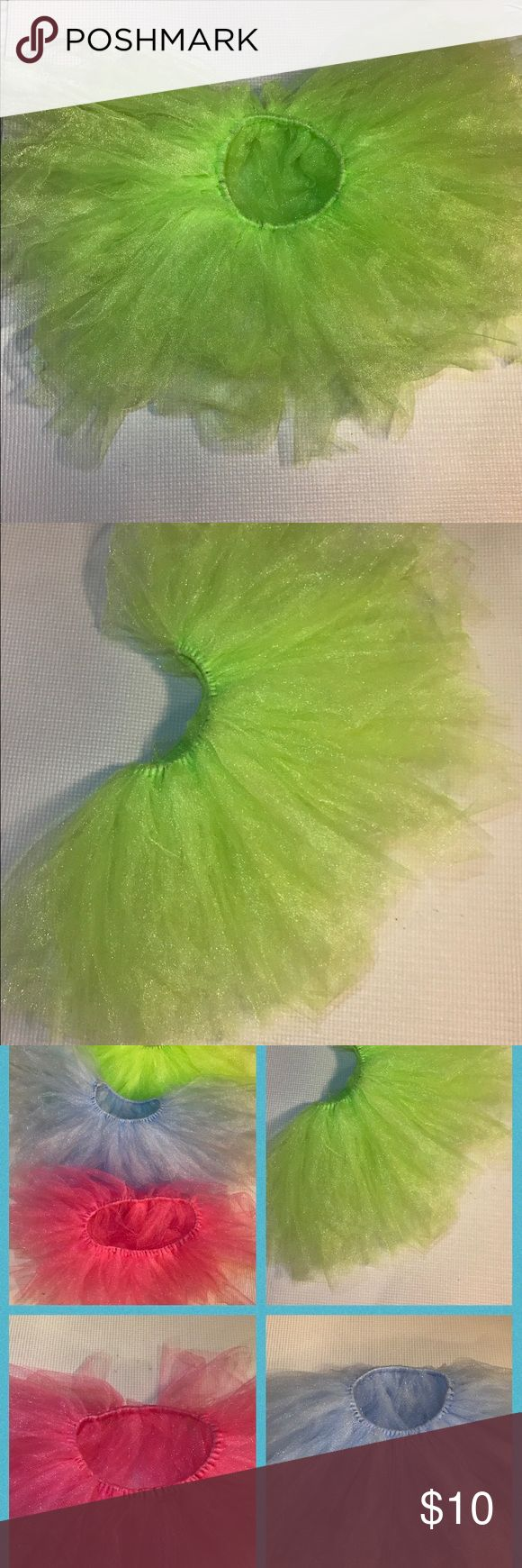 Lime Punch Tutu lime punch  matte tulle tutu hand knotted on a elastic band Dresses Casual
