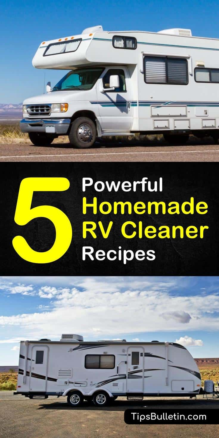 5 Incredibly Simple Diy Rv Cleaner Recipes Cleaner Recipes Cleaning Hacks House Cleaning Tips