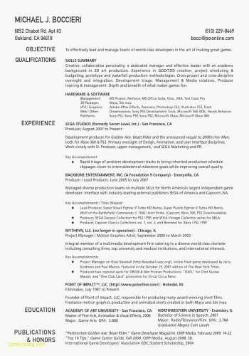 example of cover letter for resume new mock resume templates fresh
