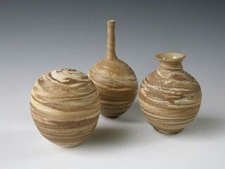 Agate pottery