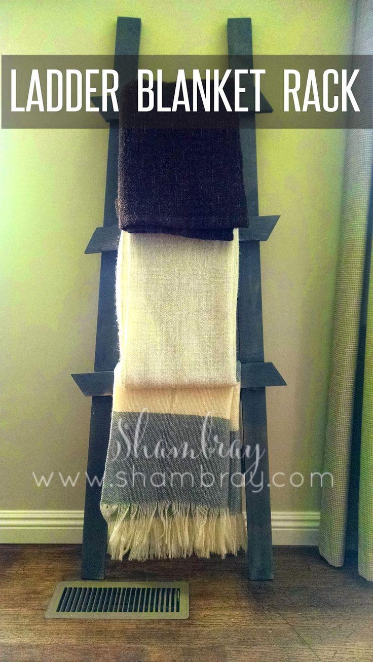 living room blanket holder tropical in spain best 25+ rack ideas on pinterest | diy quilting ...