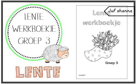 Thema lente: werkboekje voor groep 3