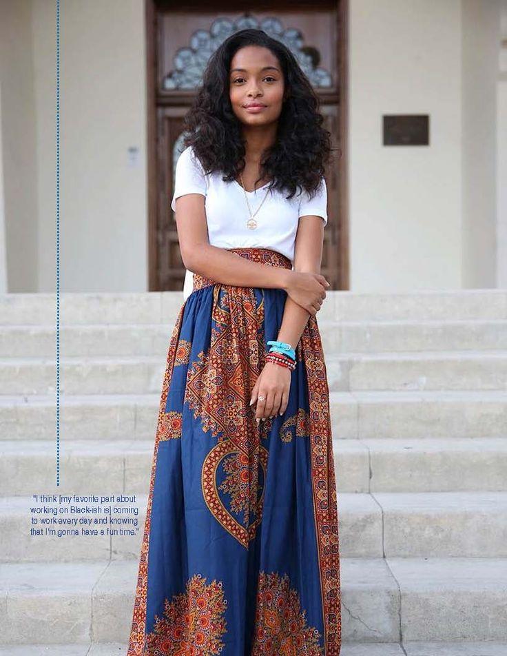 Yara Shahidi In Our Winter 2014 Issue Photo Afshin