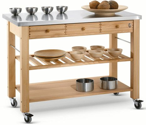 Eddingtons Lambourn Three Drawer With A Stainless Steel