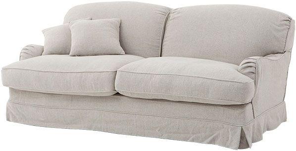 Льняной диван Eichholtz Sofa Highbury