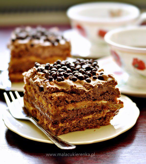 ciasto czekoladowa krowka