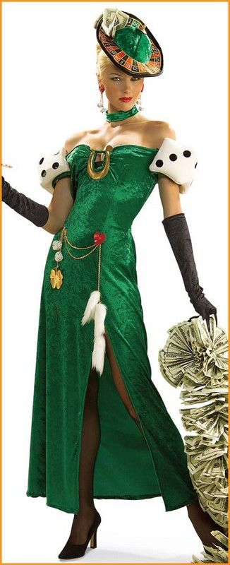 Standard As Shown Rubie/'s Women/'s Lady Luck Costume