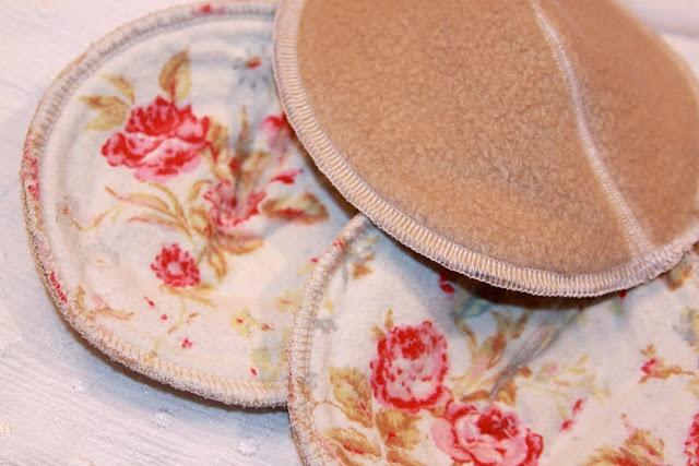 Breast/nursing pads:  DIY-Contoured Nursing Pads with free pattern @Lynne Wieber with Dancers