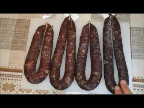 Способы приготовления сыровяленой колбасы - YouTube