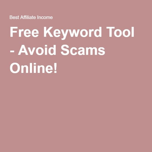Free Keyword Too for SEO