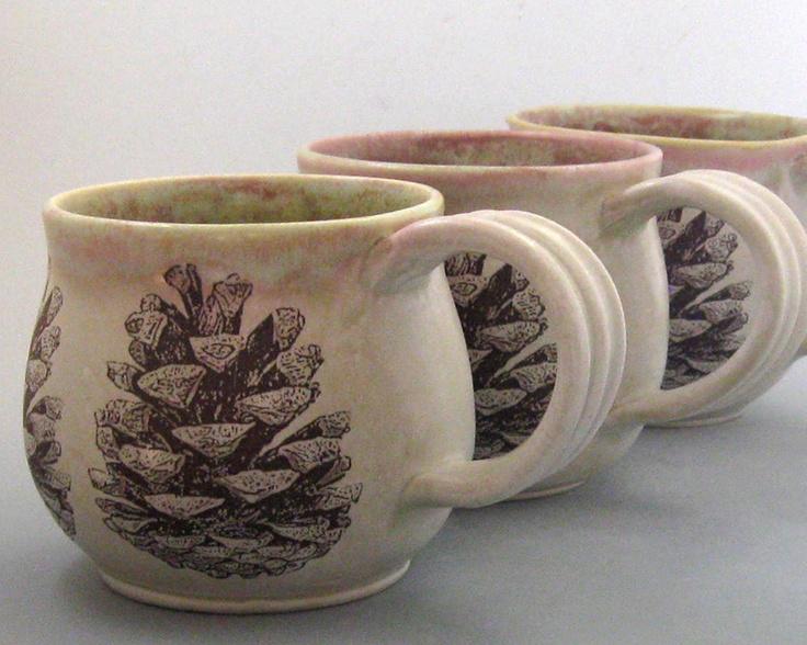 Coffee Mug - Pine Cone