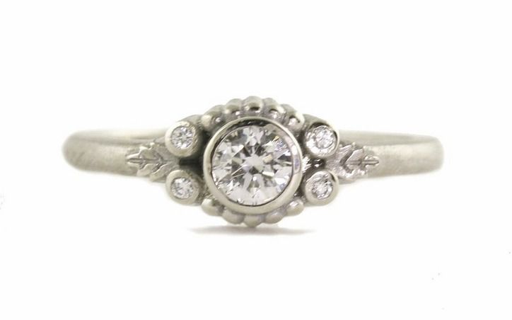 6 Dainty Engagement Rings Because No Bride Really Needs A