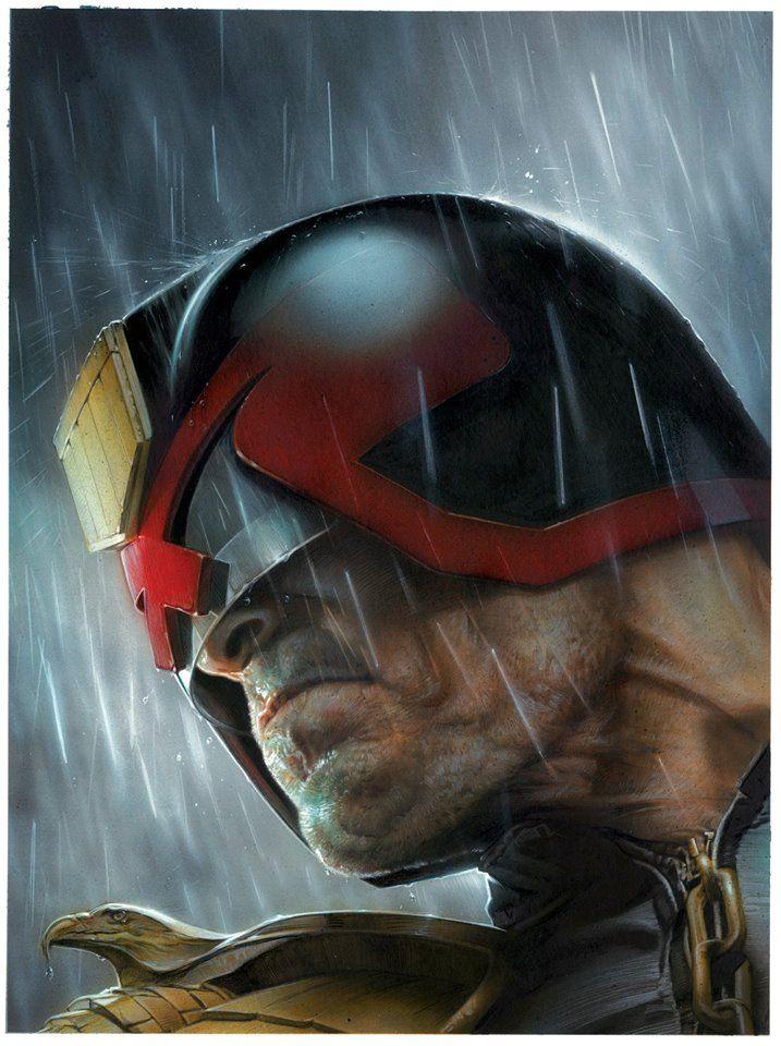 JUDGE DREDD Art by Greg Staples | Comic