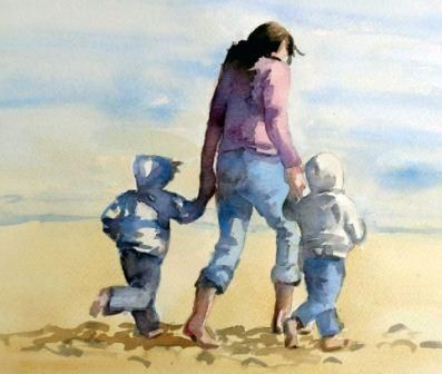 How to Succeed in Painting the Human Figure in watercolour with Sue Sareen