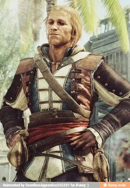 Edward Kenway. Assassin's Creed: Black Flag