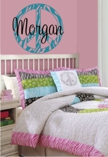 Zebra Print Peace Sign Wall Decor Fair 56 Best Peace Sign Rooms Images On Pinterest  Peace Signs 2018