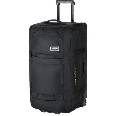 Whether you're road tripping the Powder Highway or jet-setting to Tahiti, the Dakine Split Roller Large 100L Gear Bag eagerly accommodates everything you need for extended vacations and gear-heavy missions. This generously sized bag hosts 100-liters (that's 6000 cubic inches for ya) of space that's sectioned off within its split-level design, allowing you to efficiently organize clothes and bulkier items into separate compartments. Exterior pockets stash must-have items and the zippered…