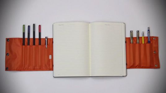 This notebook sleeve is every creative's dream