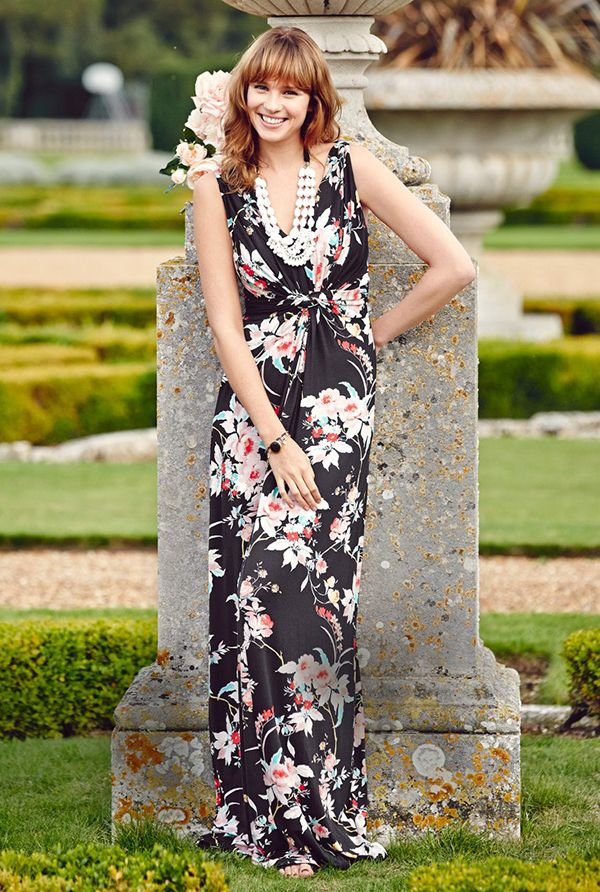 maxi dress long nose