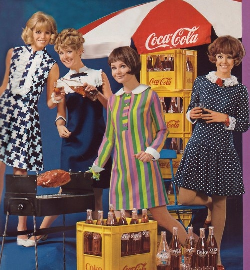 60´s Girls for Coca Cola