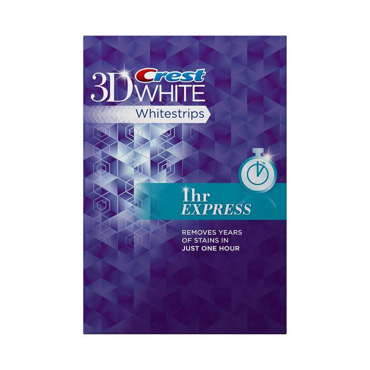 Crest 3D White Whitestrips 1 Hour Express - Teeth Whitening Kit