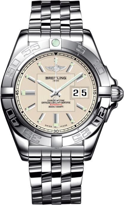 Breitling Watch Galactic 41 Sierra Silver #add-content #bezel-unidirectional #bracelet-strap-steel #brand-breitling #case-depth-14mm #case-material-steel #case-width-41mm #cosc-yes #date-yes #delivery-timescale-call-us #dial-colour-silver #gender-mens #luxury #movement-automatic #official-stockist-for-breitling-watches #packaging-breitling-watch-packaging #style-dress #subcat-galactic #supplier-model-no-a49350l2-g699-366a #warranty-breitling-official-2-year-guarantee #water-resistant-300m