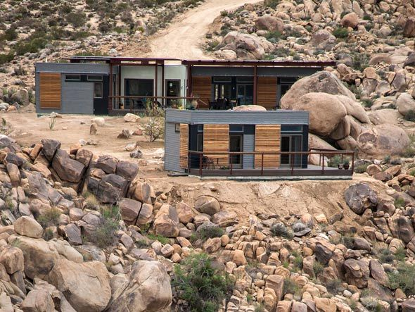 A Blu Home For The Disney Family In Joshua Tree CA