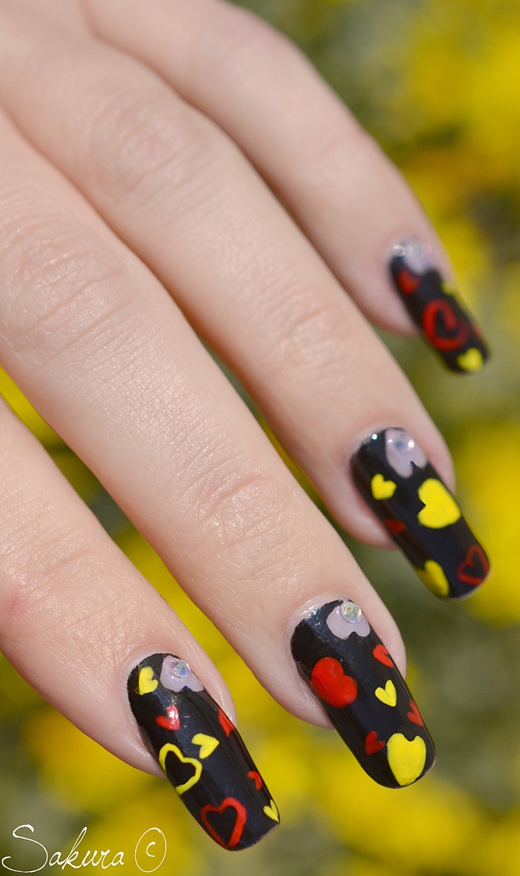 199 best Valentines Day Nail Art images on Pinterest | Nail ...