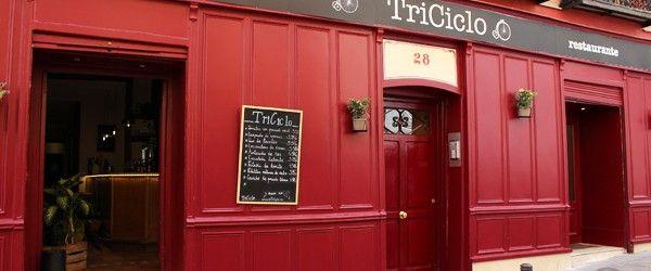 Triciclo. Restaurante, barra y catering en el Barrio de las Letras