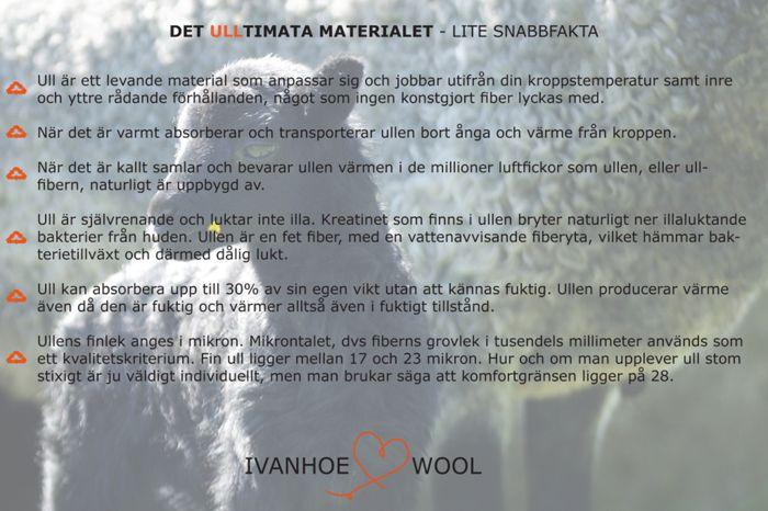 Varför ull? | Ivanhoe of Sweden AB