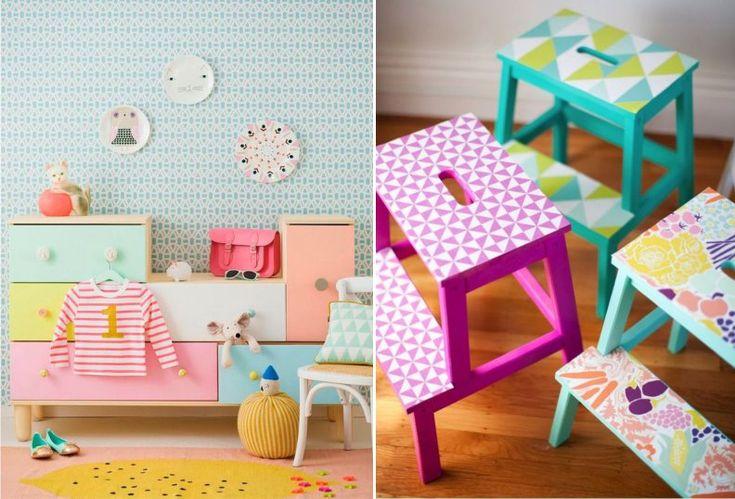 Примеры переделки детской мебели Икеа