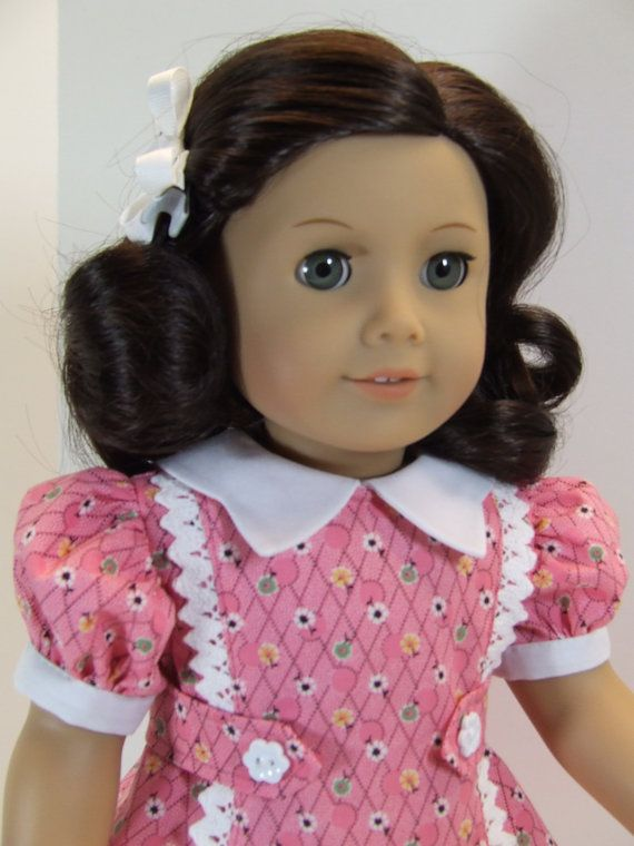 Springtime Dress for American Girl doll Ruthie Kit by agseamstress, $32.00