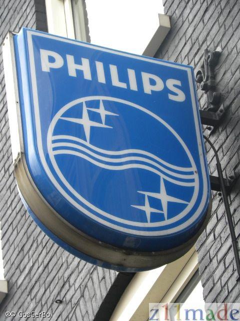 Philips uithangbord te Amsterdam 2013