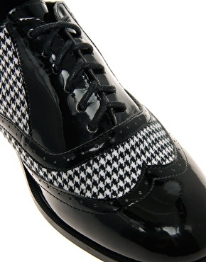 """""""mister dogtooth"""" brogue                                           women's shoe from asos"""