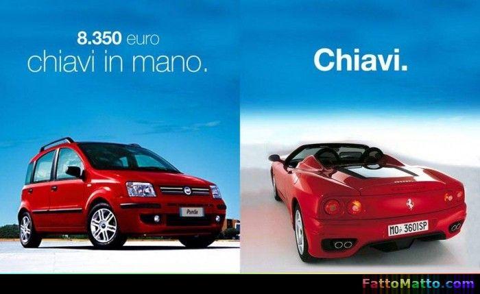 Macchina chiavi in mano, piccole differenze che fanno la differenza - via FattoMatto.com - #FattoMatto