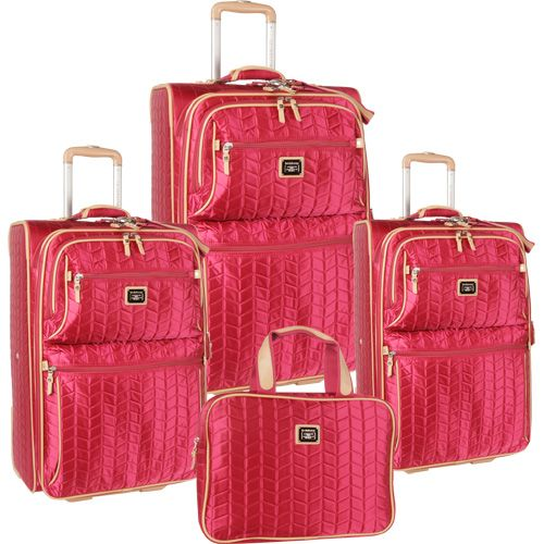 10 best Pretty in Pink Luggage Sets images on Pinterest | Pink ...