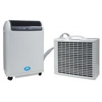Portable 15000 BTU Split Air Conditioner with Remote and Timer