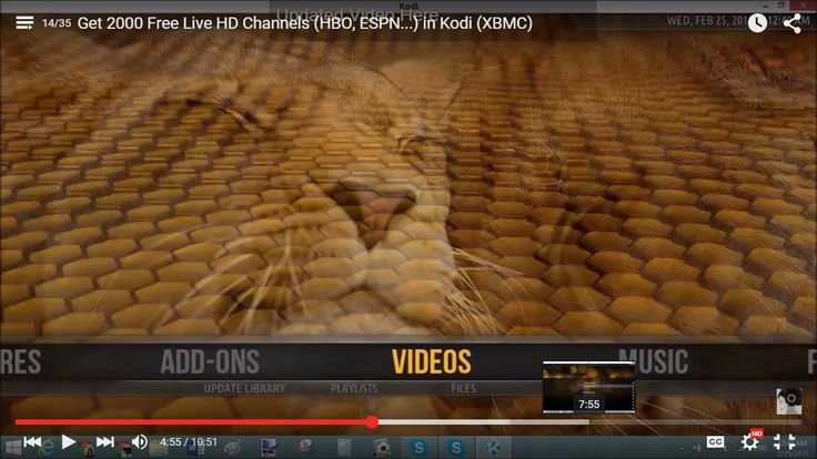 How to Get 2000 Free Live HD Channels, HBO, ESPN, on Kodi TV (XBMC)