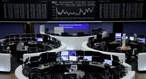 World stock markets cheered by healthy economy dollar firm