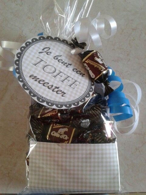 * Bedankjes/ cadeautjes eind schooljaar :: Juf Christa